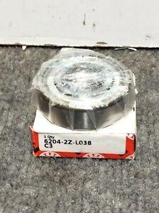 New FAG 6204-2Z-L038-C3 / 62042ZL038C3 Bearning