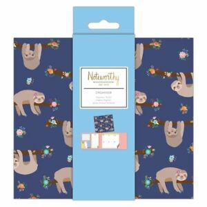 Noteworthy - It's a Sloth's Life Stationery Collection - Organiser