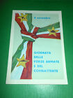 Cartolina Militaria - 4 Novembre Giornata delle Forze Armate e del Combattente #