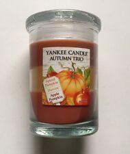 Yankee Candle AUTUMN TRIO TUMBLER SPICED PUMPKIN HARVEST APPLE PUMPKIN 10 oz