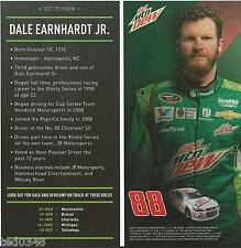 "2015 DALE EARNHARDT JR. #88 MOUNTAIN DEW ""SPRINT CUP"" POSTCARD!!"