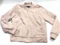 Rue 21 Women's Blush Rose Pink Full Zip Jacket Women's Size L