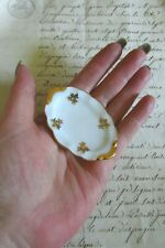 Pretty Vintage French Limoges Porcelain Dolls House Miniature Dinner Plate