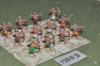 25mm biblical / assyrian - archers 12 figures - inf (12243)