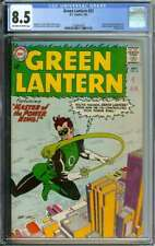 GREEN LANTERN #22 CGC 8.5 OW/WH PAGES // HECTOR HAMMOND APPEARANCE