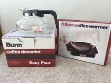 Bunn NOS Vintage Coffee Warmer & Decanter In Original Box Model #BGS New