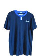 """Abercrombie & Fitch t shirt mens 36"""" chest Cotton mix black blue logo"""