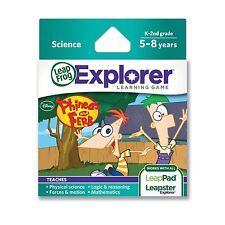 LEAPFROG LEAPSTER LEAPPAD EXPLORER LEARNING GAME DISNEY PHINEAS AND FERB