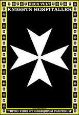 Knights Hospitaller Coat of Arms Poster