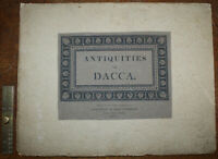 1831 Antiquities of Dacca Charles D'Oyly Scarce 12 Text Pages Only 1 Engraving