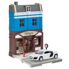 800013 Herpa City Bakery with Audi R8 Die-cast Model 1 64