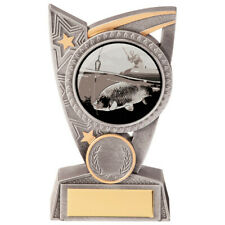 TRIUMPH FISHING TROPHY - Fish Award * FREE LUXURY ENGRAVING * - Budget Trophies