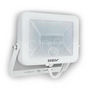 LED Strahler mit Bewegungsmelder extra flach LED Fluter als Aussenbeleuchtung