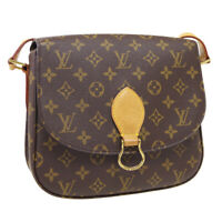 LOUIS VUITTON SAINT CLOUD GM SHOULDER BAG TH0052 PURSE MONOGRAM M51242 37166