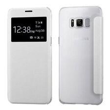 Étuis, housses et coques avec clip blancs Samsung Galaxy S8 pour téléphone mobile et assistant personnel (PDA)