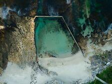 Digital Photograph Wallpaper Image Oak Park Rock Pool Sydney In Winter