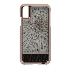 Case-Mate Luminescent Light Up Jewel Case for iPhone X 10 - Rose Gold/Jewels