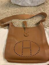 HERMES Evelyne 1 GM - Shoulder Bag Brown Leather