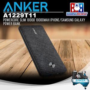 Anker A1229T11 PowerCore Slim 10000 10000mAh iPhone/Samsung Galaxy Power Bank