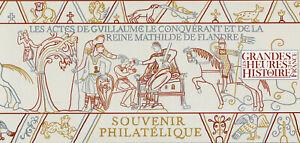 France Stamps 2020 MNH William Conqueror Matilda of Flanders 2v MS Phil Souvenir