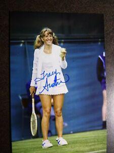 TRACY AUSTIN Authentic Hand Signed Autograph 4X6 Photo - FEMALE TENNIS LEGEND