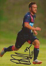NEWCASTLE: ADAM ARMSTRONG SIGNED 6x4 ACTION PHOTO+COA
