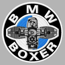 """BMW BOXER EMBROIDERED PATCH ~3-1/8"""" MOTORCYCLE BRODÉ MUOKKAA BRODERAD EMBROIDADO"""