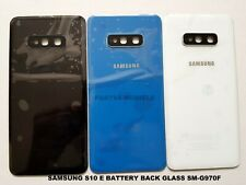 Replacement Samsung Galaxy S10 ,S10 E,S10 PLUS  Rear Glass Back Battery Cover