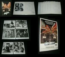 Orig CHEECH & CHONG THINGS ARE TOUGH ALL OVER PRESS KIT 6 8X10s 24 Pgs + 1 SHEET