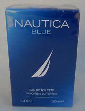 Nautica Blue Eau de Toilette Spray for Men, 3.4 oz * New in Box