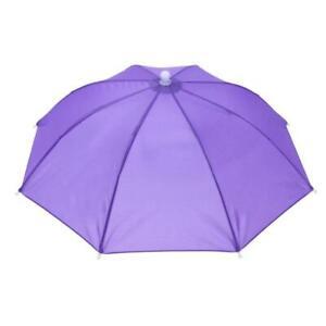 Portable Head Umbrella Hat Fishing Caps Anti-Rain Fishing Anti-Sun Umbrella Hat