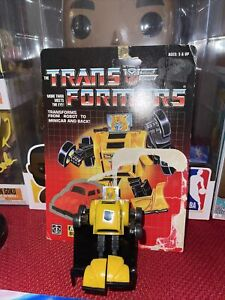 Bumblebee W/ BUBBLE Complete Vintage Hasbro 1985 G1 Transformers Action Figure