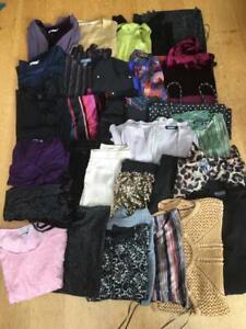 EVENING BUNDLE x 36     Woman/Teen  *Dresses/tops/shorts/jackets*   Size 4/6/XS