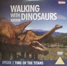 WALKING WITH DINOSAURS TIME OF THE TITANS EP 2 DISCOVERY CHANNEL COLLECTION DVD