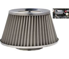 Grey Induction Kit Cone Air Filter Jeep Wrangler 2007-2016
