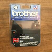 Brother Package of 2 Correctable 1030 Film Ribbons Brother AX Series 1230 Black