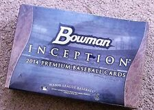 2014 BOWMAN INCEPTION BASEBALL HOBBY BOX FREE SAME DAY PRIORITY MAIL SHIPPING