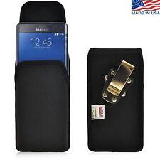 Turtleback Vertical Samsung Galaxy Note Edge Nylon Pouch Holster Metal Belt Clip
