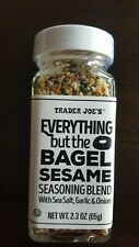 TRADER JOE'S EVERYTHING but the BAGEL SESAME SEASONING BLEND One 2.3 oz bottle