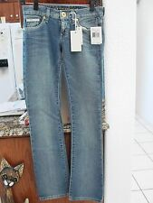 Guess Size 27/34 Jeans Daredevil Boot Cut Stretch Blue MSRP 98.00