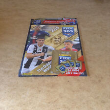 PANINI FIFA 365 STICKER STARTER PACK OFFICIAL 2019 STICKER ALBUM STICKER PACKETS