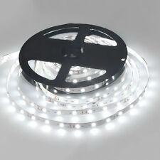 LED Strip Licht Streifen 5m Band Leiste mit 300 Leds/Roll Weiß(SMD 3528) DC 12V