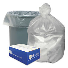 Good 'N Tuff High Density Waste Can Liners 55-60gal 12 Microns 38x58 Natural 200