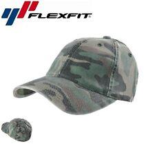 Flexfit Camouflage Baseball Cap L/XL Camouflage Wald