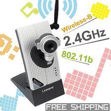 Linksys WVC11B Web Cam Baby Monitors video camera 2.4GHZ Wireless Network IP