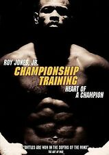 Championship Training / Heart of a Champion, Good DVD, Roy Jones Jr., Mackie Shi