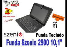 "FUNDA TECLADO TABLET SZENIO 2500 10,1"" UNIVERSAL 10"" KEYBOARD CASE"