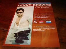 LENNY KRAVITZ I BELONG TO YOU!!!!!RARE FRENCH PRESS/KIT
