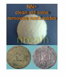 Cleaning All Coins. removes rust & oxides. Coin Cleaner / COPPER SILVER IRON