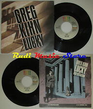 LP 45 7'' GREG KIHN Lucky Sad situation 1985 italy EMI AMERICA cd mc dvd *